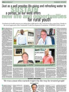Natal Witness Article 29 November 2012